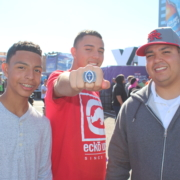 What A Fan Winners Ring at the Super Bowls NFL Experience