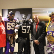 Tampa, Raiders and Vikings Fans Honored in Los Angeles