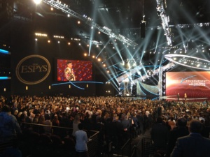 What A Fan attends the ESPY's